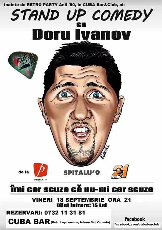 doru iVanov stand up comedy